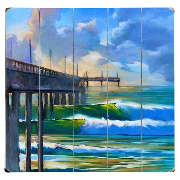 Early Light Drawing Print Multi-Piece Image on Wood by Artehouse LLC
