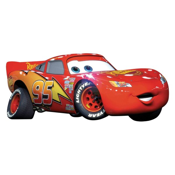 Disney Cars Lightning McQueen Wall Decal by Wallhogs