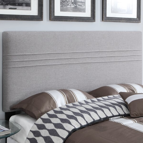 Hadleigh Upholstered Panel Headboard by Alcott Hil