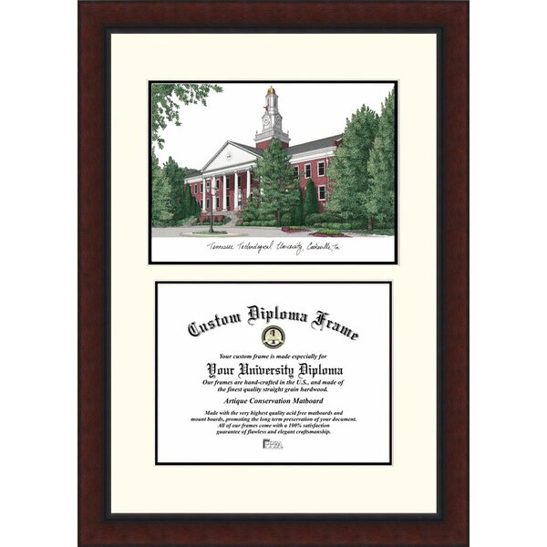 NCAA Tennessee Tech University Legacy Scholar Diploma Picture Frame by Campus Images