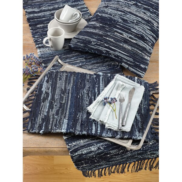 Denim Chindi 20 Placemat (Set of 4) by Saro