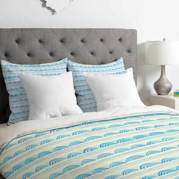 Scallops Duvet Cover by East Urban Home