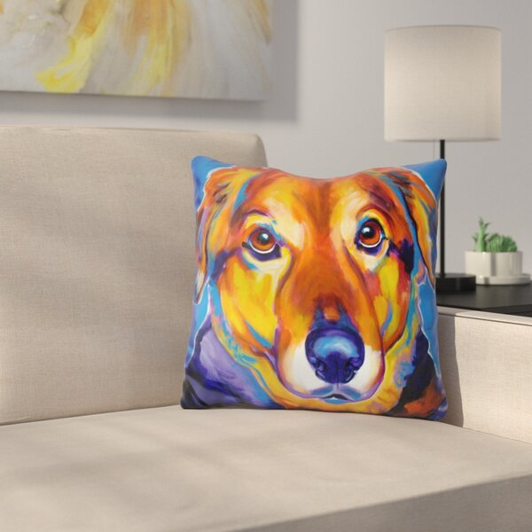 Riley Square Throw Pillow by East Urban Home
