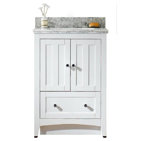 Nixon Floor Mount 24 Single Bathroom Vanity Set by Royal Purple Bath KitchenNixon Floor Mount 24 Single Bathroom Vanity Set by Royal Purple Bath Kitchen