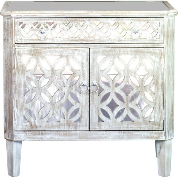 Stacy 2 Door Accent Cabinet by House of Hampton House of Hampton