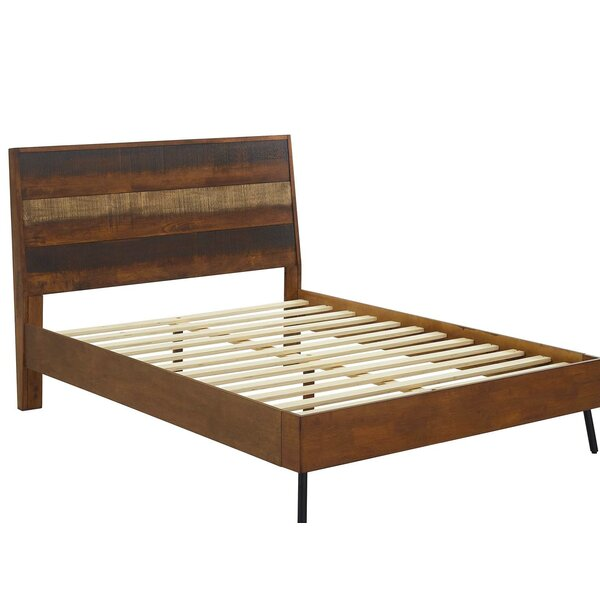Borman Queen Platform Bed by World Menagerie