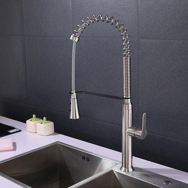 Pull Down Single Handle Kitchen Faucet by Jaxdenmax Jaxdenmax