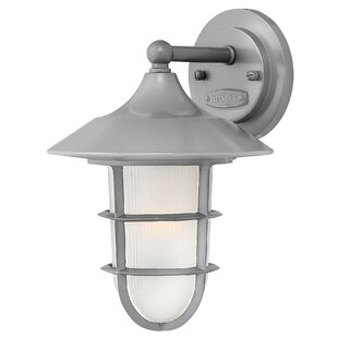 Compare Washer Outdoor Wall Lantern By Breakwater Bay