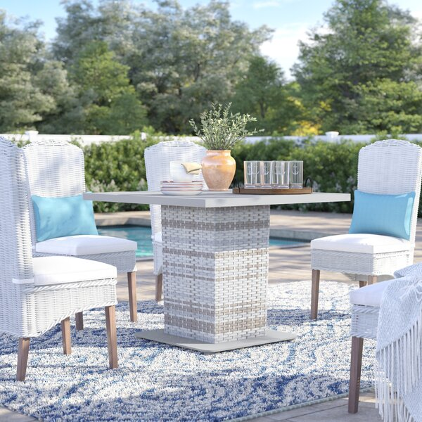 Falmouth Metal Dining Table By Sol 72 Outdoor