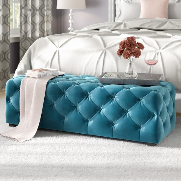 Bortz Tufted Ottoman By Willa Arlo Interiors Great Reviews