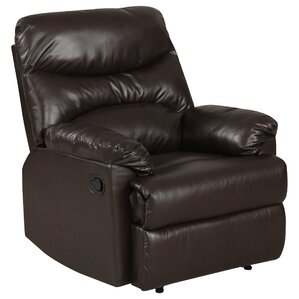 Rossville Chaise Manual Wall Hugger Recliner by Andover Mills