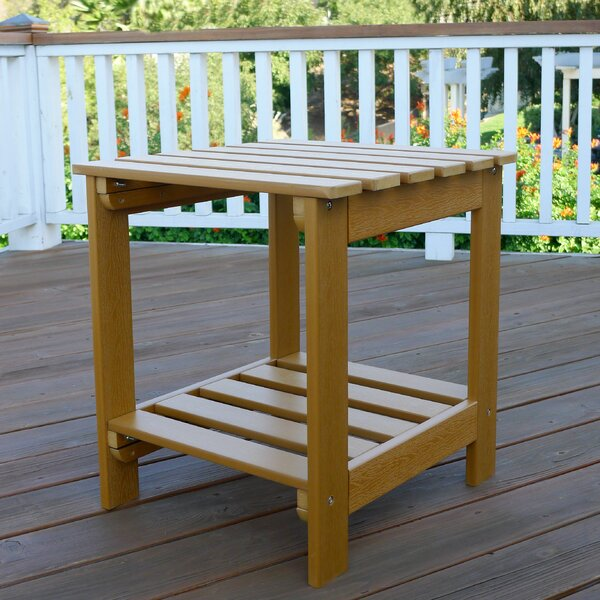 Square Side Table by Shine Company Inc.