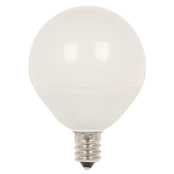60W Equivalent E12/Candelabra LED Globe Light Bulb by Westinghouse Lighting