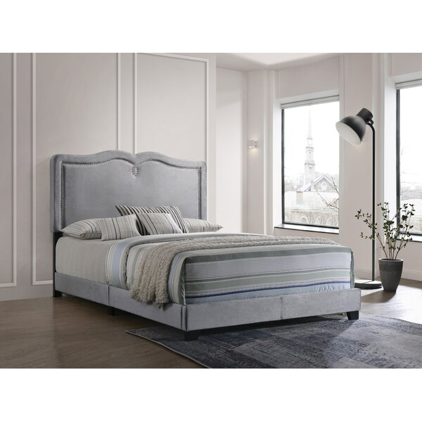 Hammel Queen Upholstered Standard Bed by House of Hampton