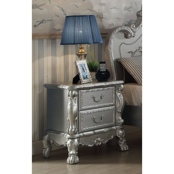 Villenova 2 Drawer Nightstand by Astoria Grand