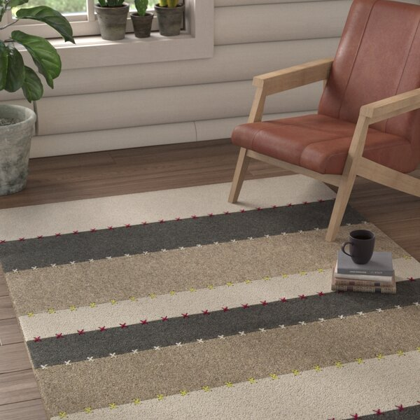 Auerbach Striped Rug by Union Rustic