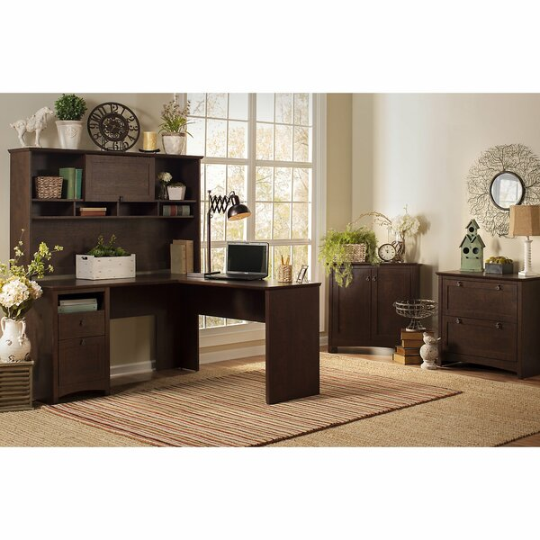 Fralick 4 Piece L-Shape Desk Office Suite by Darby Home Co