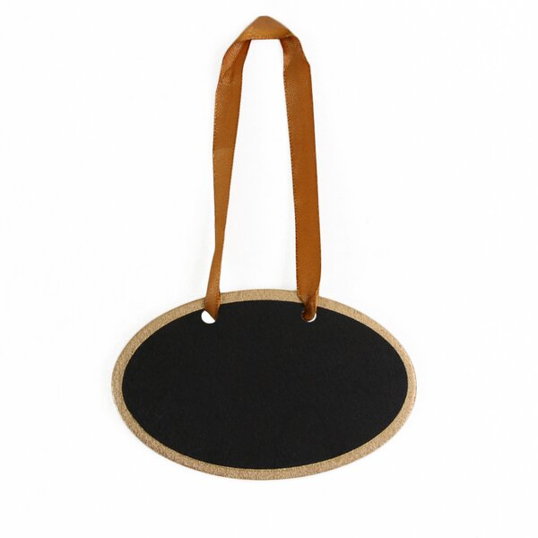 Hanging Gift Tag Chalkboard (Set of 12) by Koyal Wholesale