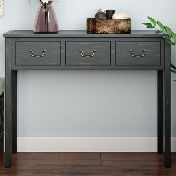 Sadie 39.4 Solid Wood Console Table
