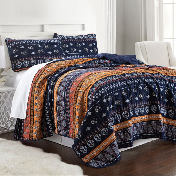 Forand Reversible Coverlet Set by Bloomsbury Market