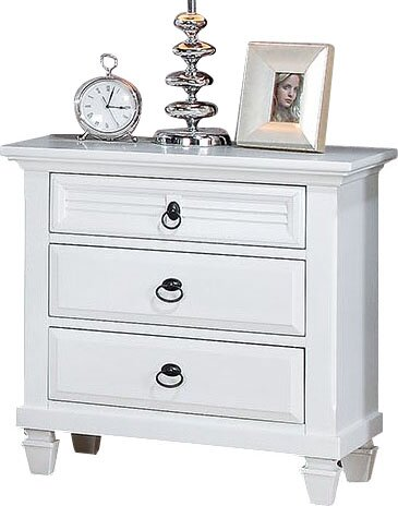 Wheaton 3 Drawer Nightstand by Darby Home Co