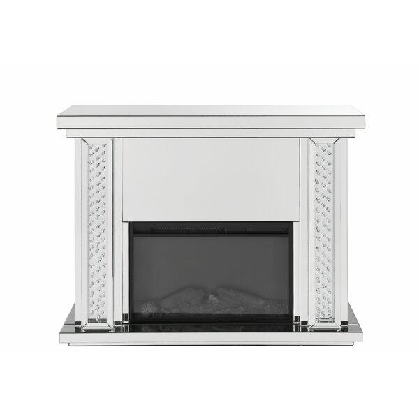 Burkburnett Electric Fireplace By Mercer41