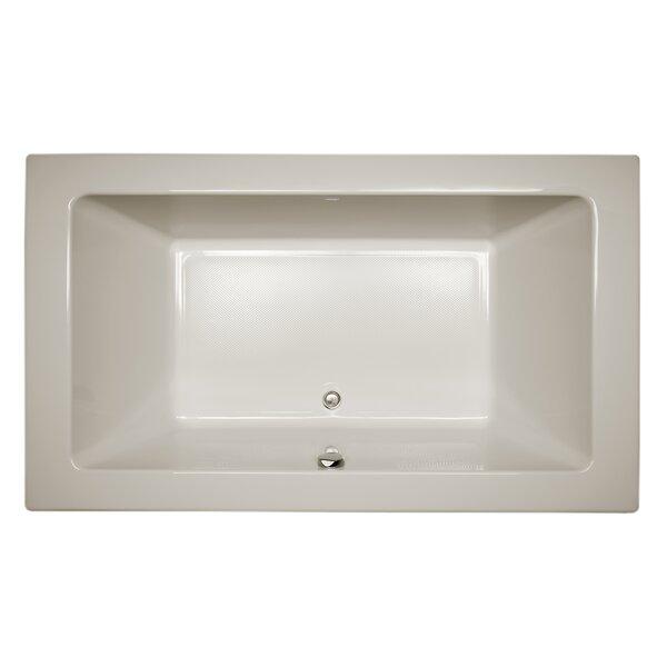 Sia Bath 72 L x 42 W Drop In Soaking Bathtub by Jacuzzi®