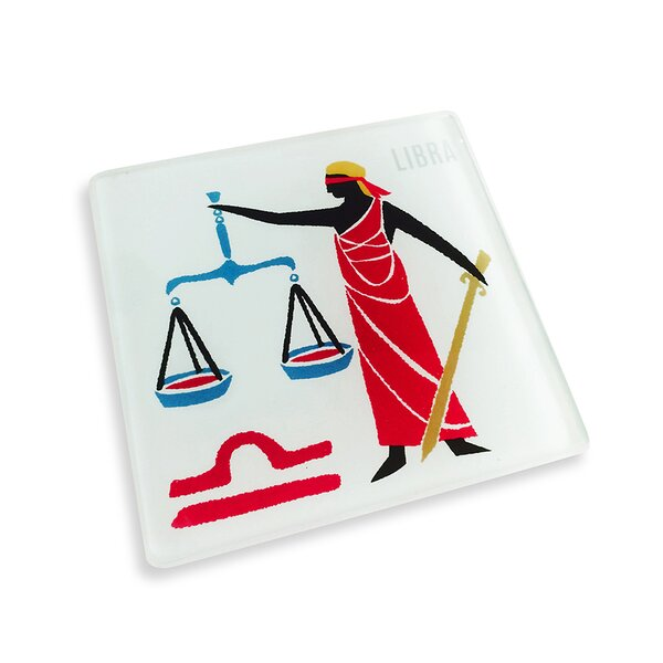 Libra Coaster (Set of 4) by Naked Decor