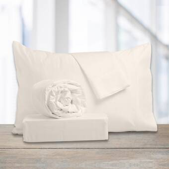 Foundry Select Bowman 350 Thread Count 100 Cotton Sheet Set Wayfair