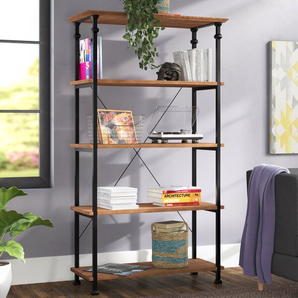Zona Etagere Bookcase by Mercury Row