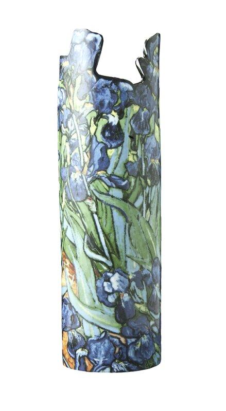 Dartington Silhouette De Art Van Gogh Irises Porcelain Vase Wayfair