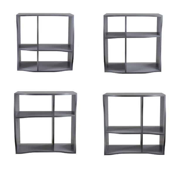 Faircloth Standard Bookcase (Set of 3) by Ebern Designs