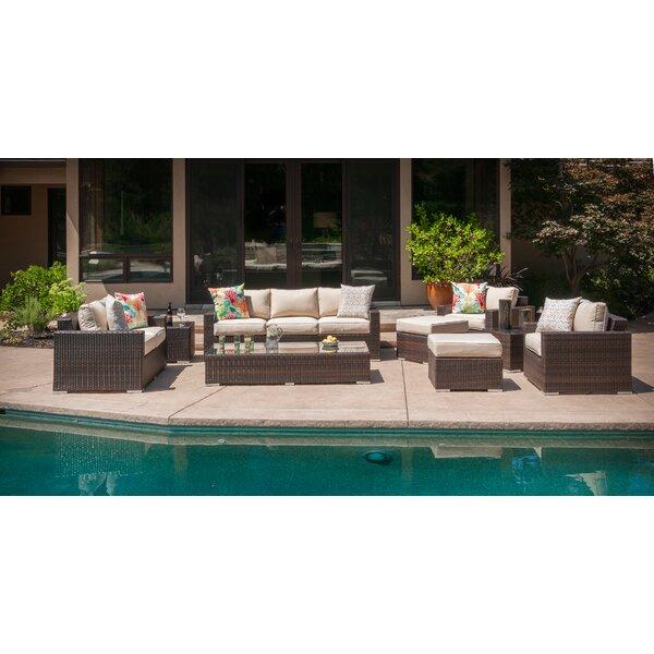 Virgilina 9 Piece Sofa Seating Group with Cushions Brayden Studio W001236080