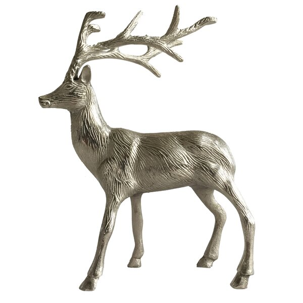 Shisler Enchanted Stag Figurine by Millwood Pines