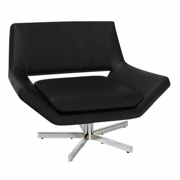 Matt Swivel Lounge Chair by Wade Logan