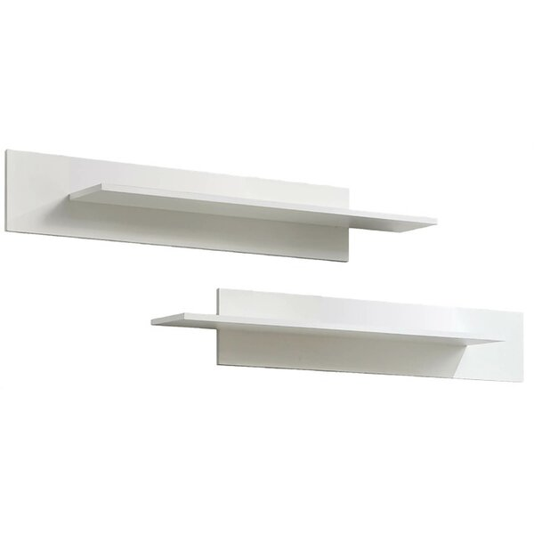 Kaira Modular Wall Mounted 2 Piece Floating Shelf Set by Orren Ellis