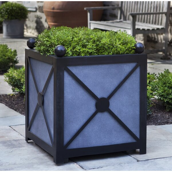 Villandry Square Clay Planter Box by Campania International