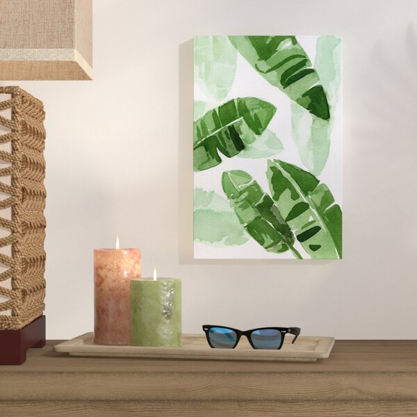 Tropical Wonders Painting Print on Wrapped Canvas by Bay Isle Home