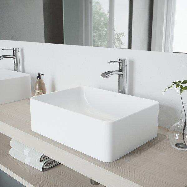 Milo Single Hole Bathroom Faucet with Optional Drain Assembly by VIGO