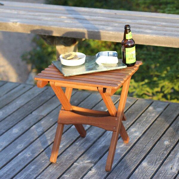 Alejandra Solid Wood Side Table by Freeport Park