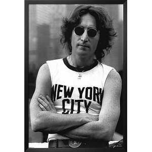 John Lennon (New York City) Music Framed Photographic Print by Buy Art For Less