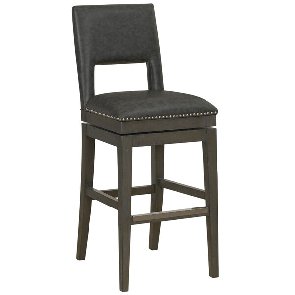 Attleborough 30 Swivel Bar Stool by Loon Peak