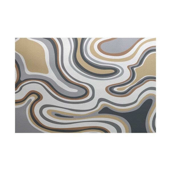 Buenrostro Taupe Indoor/Outdoor Area Rug by Latitude Run