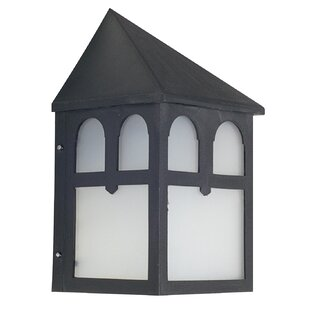 High-End 1-Light Outdoor Wall Lantern By Sunset Lighting