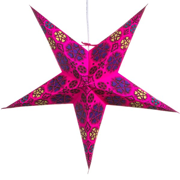 Hearts and Stars Paper Star Light by Hometown Evolution, Inc.