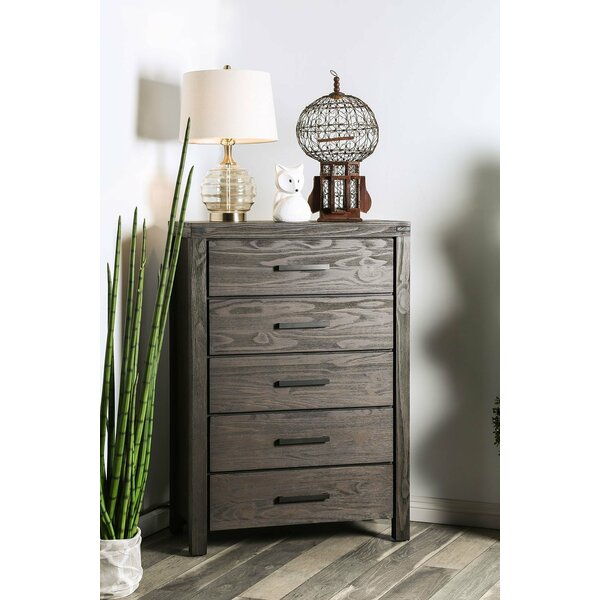 Triplett 5 Drawer Chest by Rosalind Wheeler