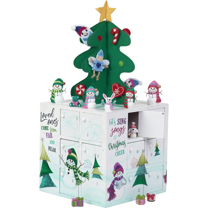 Holiday Seasonal Decor Wood Christmas Tree Advent Count Down Calendar 25 Empty Drawers Holiday Decor Netpackmdz Com Ar Count down to christmas with this charming christmas tree cartoon. netpack