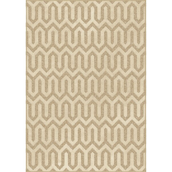 Pittman Beige Area Rug by Threadbind