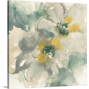 Silver Quince I by Chris Paschke Painting Print on Wrapped Canvas by Great Big Canvas
