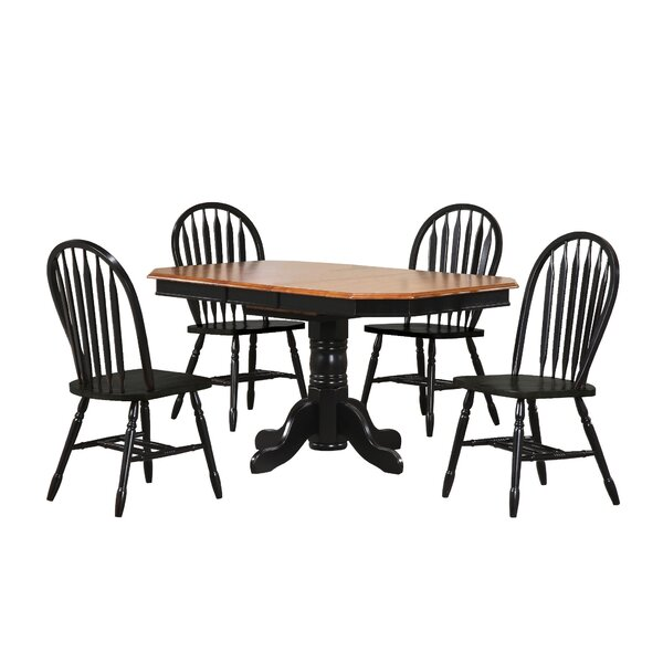 Irie 5 Piece Pub Table Set by Loon Peak